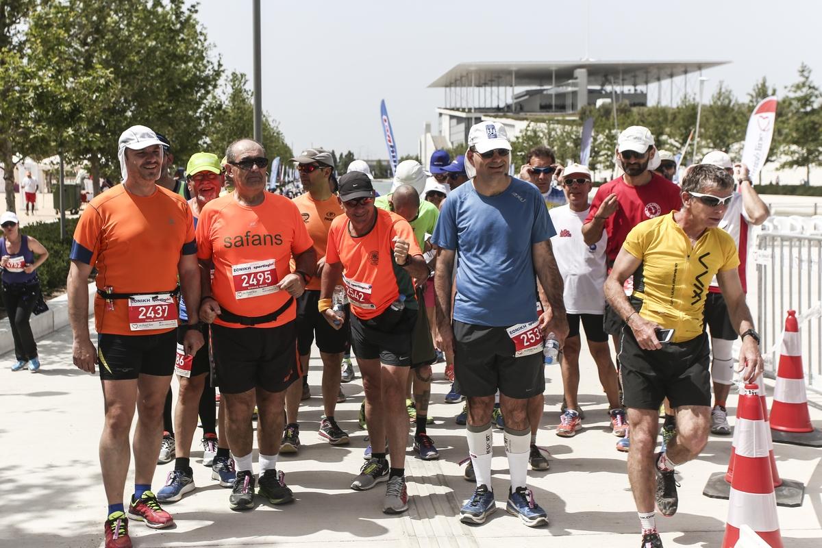 Ο Υπερμαραθώνιος αγώνας των 24 ωρών στο No Finish Line Athens