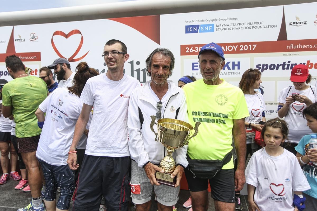 Patrice Loquet: «Ηταν όλα υπέροχα στο No Finish Line της Αθήνας!»