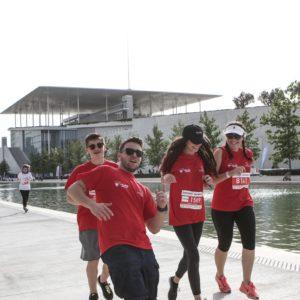 Εθελοντές για το No Finish Line της Αθήνας