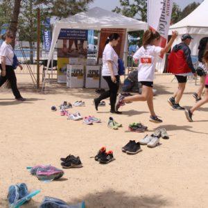 40 ζευγάρια παπούτσια βρήκαν νέους ιδιοκτήτες