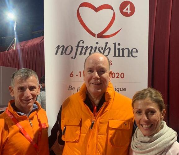 O Πρίγκηπας Αλβέρτος του Μονακό στηρίζει το No Finish Line Αthens 2020