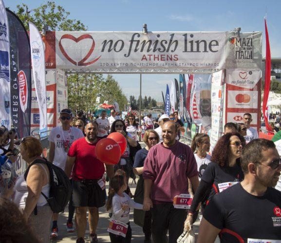 Ξεπέρασε τις 10.000 συμμετοχές το No Finish Line Athens 2020